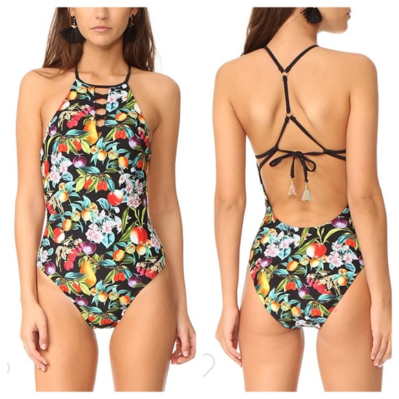 682be0911a Nanette Lepore Fruit One Piece Swimsuit